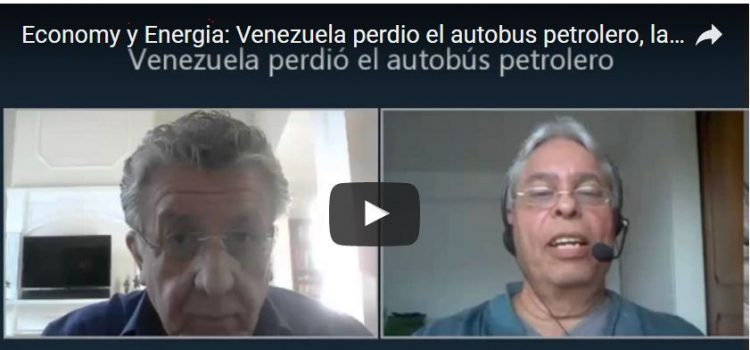 Economy y Energia: Venezuela perdio el autobus petrolero, la industria petrolea bajo colapso