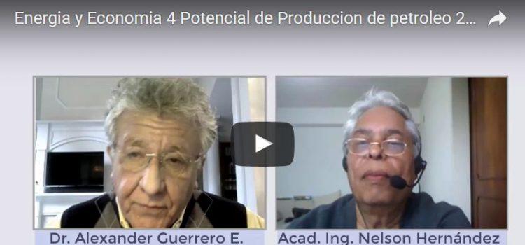 Energia y Economia 4 Potencial de Produccion de petroleo 2da parte